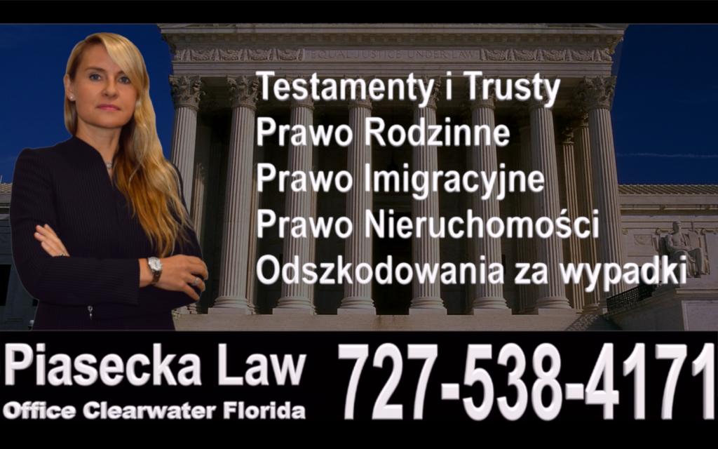 Polish, Attorney, Lawyer, Florida, USA, Polski, Prawnik, Adwokat, Floryda, Agnieszka Piasecka, Aga Piasecka, Piasecka, Fort Myers